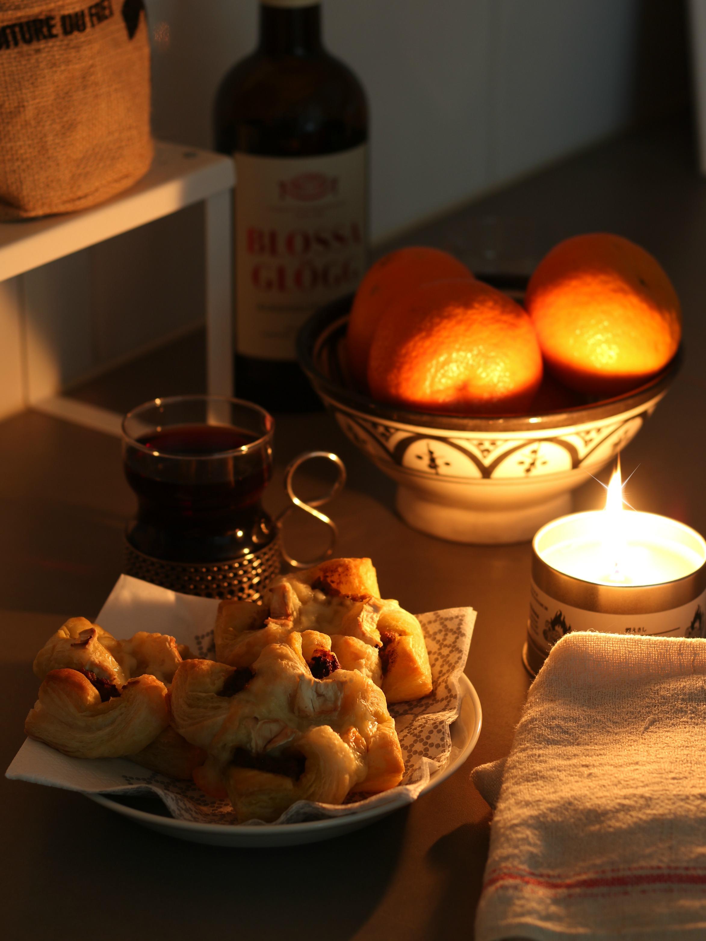 Joulukalenteri CASA suolainen homejuusto-pesto torttu resepti