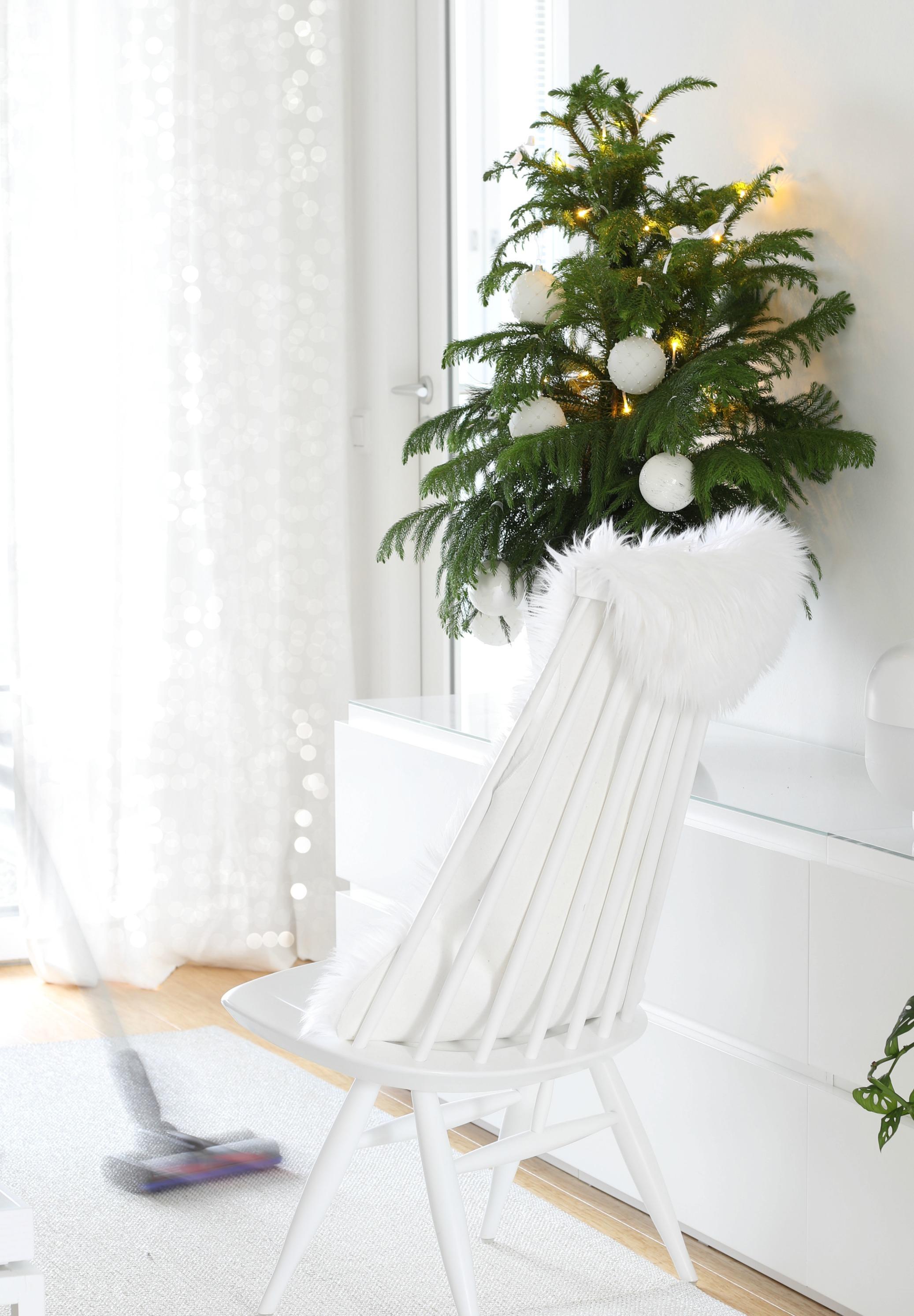 Joulusiivousvinkit tuotearvonta Oma Koti Valkoinen joulukalenteri CASA